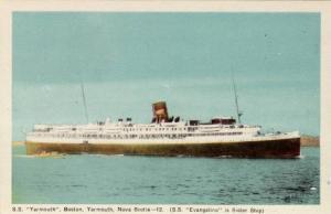 Steamer/Ship, S. S. Yarmouth, Boston, Yarmouth, Nova Scotia, 1930-1940s