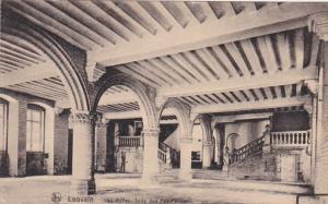 Belgium Louvain Las Halles Salle de Pas-Perdus