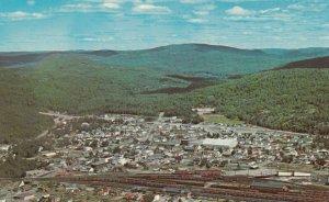 SCHREIBER , Ontario , 1950-60s ;  Bird's Eye View