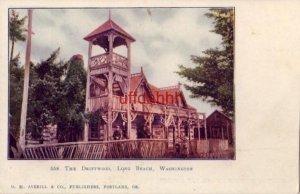 pre-1907 THE DRIFTWOOD, LONG BEACH, WA. D. M. Averill & Co. Publishers