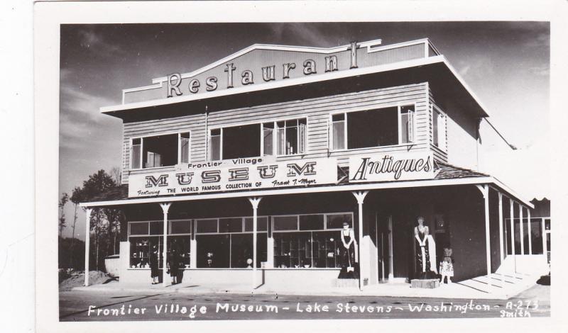 RP, Frontier Village Museum, LAKE STEVENS, Washington, 1940s