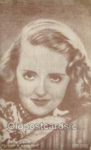 Bette Davis Movie Actor / Actress, Entertainment Postcard Post Card Non Postc...