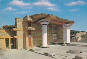 GREECE, 1950-1970's; Knossos, South Propylaeum