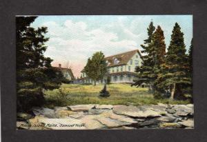 ME Mouse Island Samoset House Maine Postcard 1908 near Boothbay Harbor