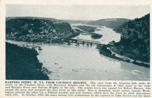 WV - Harper's Ferry, View from Loudoun Heights