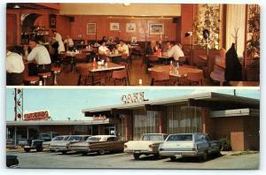 Postcard OK El Reno Hensley's Consumers Cafe & Oil Company Route 66 R40