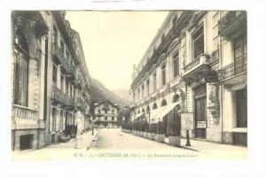 Le Boulevard Latapie-Flurin, Showing Casino Club Entree, Cauterets (Hautes-Py...