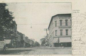 FULTON , Missouri , 1909 ; Court Street
