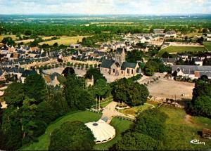 Chateau Sainte Mere Eglise Vue Aerienne