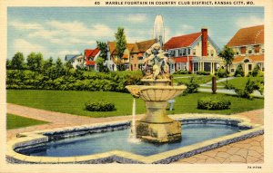 MO - Kansas City. Country Club District, Marble Fountain