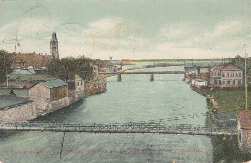 BELLEVILLE , Ontario , Canada , PU-1909 ; Moira River