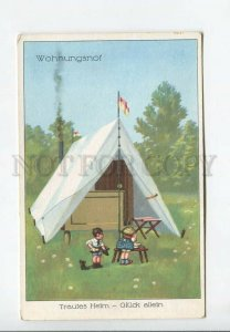 3176911 Types of HOUSE Home LITTLE KIDS in Tent Vintage PC
