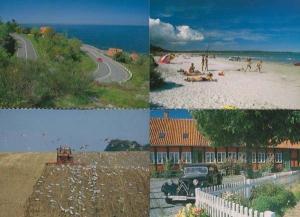 Bornholm Denmark 4x Beach Farming Ronne Havn Postcard s