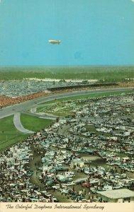 Postcard Daytona International Speedway Daytona Beach Florida