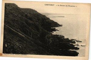 CPA CARTERET - Le Sentier des Douaniers (138123)