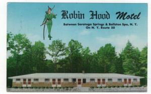 Ballston Spa, New York,  Early View of The Robin Hood Motel