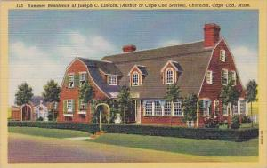 Summer Residence Of Joseph C Lincoln Chatham Cape Cad Massachusetts
