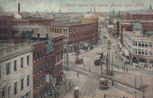 LYNN , Massachusetts, 1900-10s ; Central Square