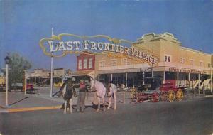 Las Vegas NV The Silver Slipper Gambling Hall Postcard