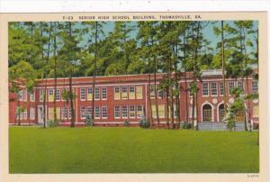 Georgia Thomasville Senior High School Building