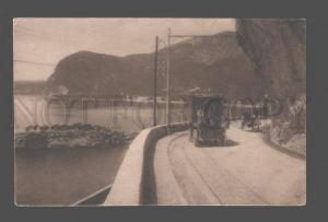 083219 OLD CAR route de nice a Monaco La Baie d'Eze Vintage PC