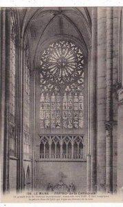 France Le Mans Interieure de la Cathedrale