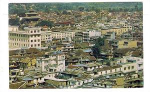 Nepal , 40-60s ; Birdseye view , KATHMANDU