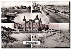 Pornichet Postcard Old Port Promenade Le Chateau