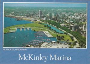 Wisconsin Milwaukee McKinley Public Marina Aerial View
