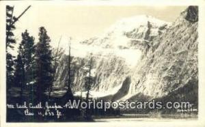 Canada Jasper Park Mt Edith Cawell Real Photo