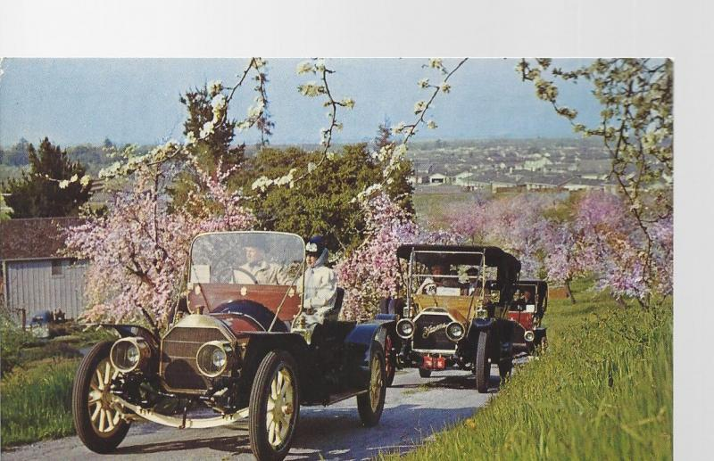 1909 Pierce Arrow Post Card Montagu Motor Museum