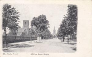 ENGLAND, PU-1904; Clifton Road, Rugby