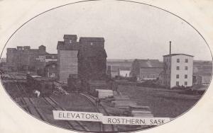 ROSTHERN , Sask. , Canada , 1901-07 ; Elevators