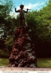 Peter Pan Statue,Kensington Gardens,London,England,UK BIN