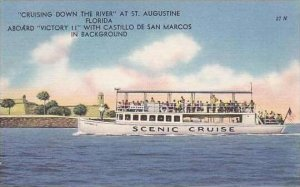 Florida St Augustine Crusing Down The River Aboard Victory II