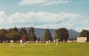 Cricket Game , Brockton Oval , Stanly Park , VANCOUVER , B.C. , Canada , 50-60s