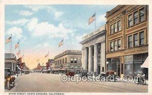 State Street, First National Bank Santa Barbara, CA, USA Unused
