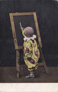 Child Drawing, 1900-1910s