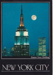 New York City Empire State Building & World Trade Center At Night