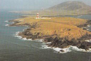 Bardsey Bird Science Weather Observation Tower Welsh 1970s Postcard