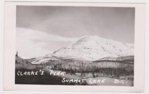 RP; Clarke's Peak, Summit Lake, British Columbia, Canada, PU-1952