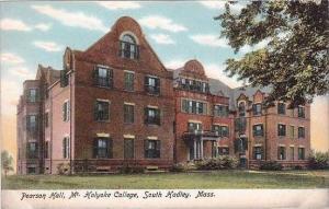 Massachusetts South Hadley Pearson Hall Mt Holyoke College