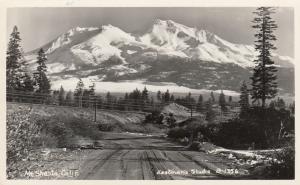 RP: MT. SHASTA , California , 1930-40s