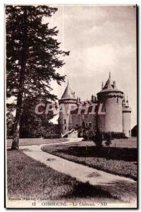 Old Postcard Chateau Combourg