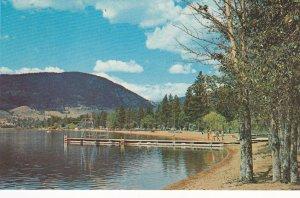 PENTICTON , B.C. ,1950-60s ; Skaha Lake Beach , South