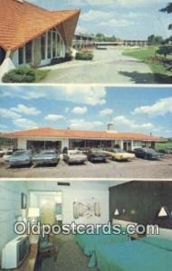 Howard Johnsons Motor Lodge, Concord, New Hampshire, NH USA Hotel Postcard Mo...
