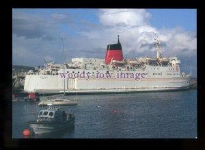 FE2755 - Isle of Man Ferry - King Orry , built 1975 - postcard