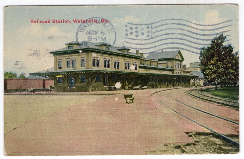 Waterville, Me, Railroad Station