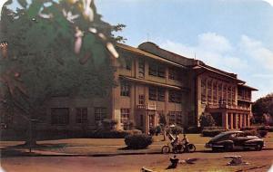 Panama Old Vintage Antique Post Card Balboa High School & Junior College Cana...