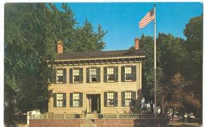 Home of Abraham Lincoln, Springfield, Illinois Postcard